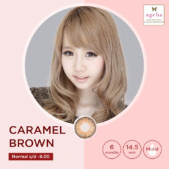 Softlens Ageha Caramel Brown
