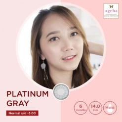 Softlens Ageha Platinum Grey