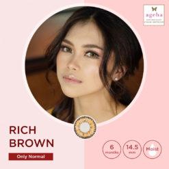 Softlens Ageha Rich Brown