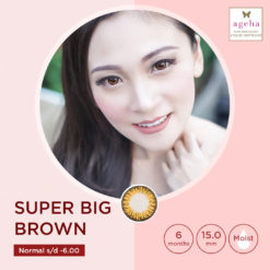 Softlens Ageha Super Big Brown