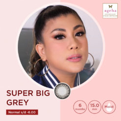 Softlens Ageha Super Big Grey