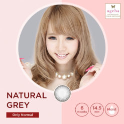 Softlens Ageha Natural Grey